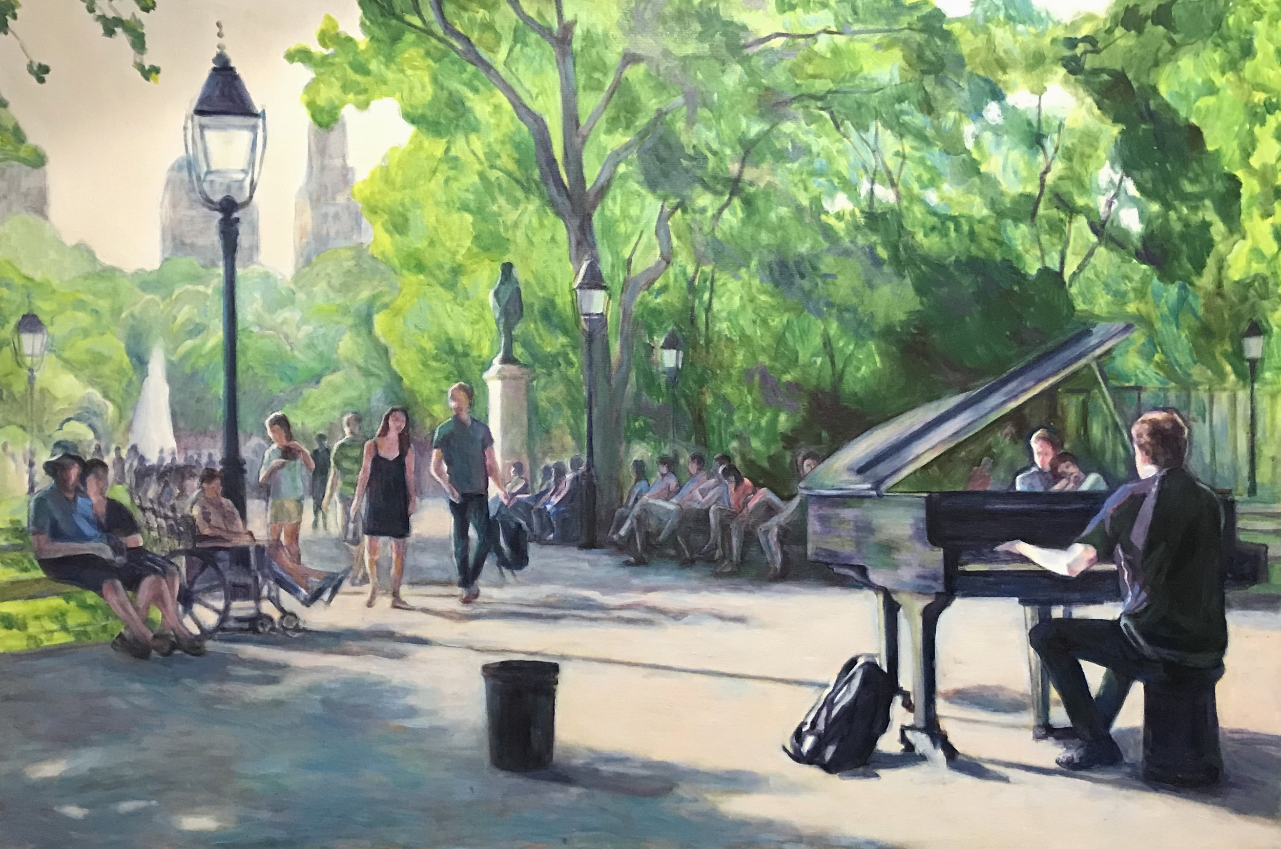 Summer in WashingtonSquare Park
