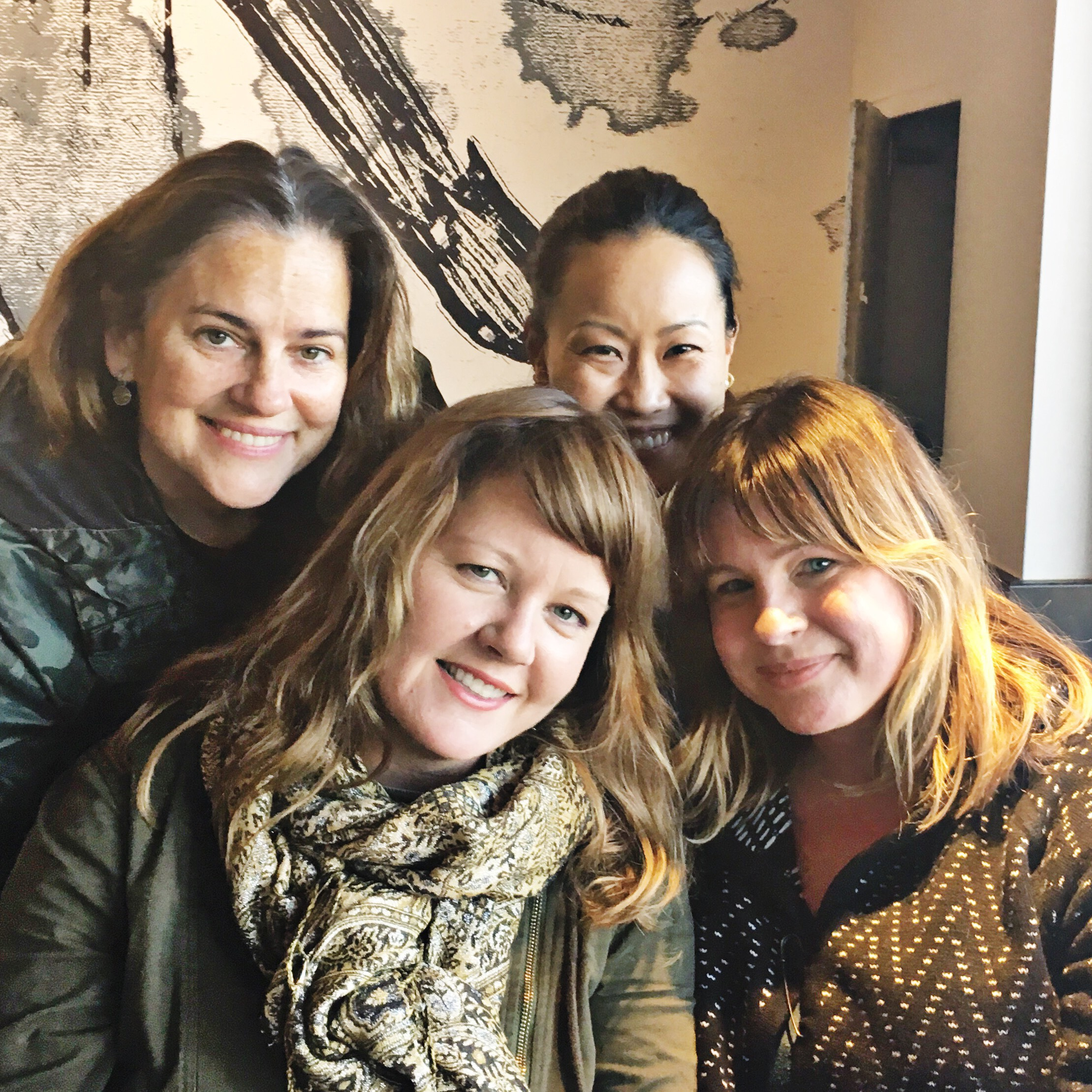 The Welcome Committee - Ryan Silvers, Megan Sullivan, Angela Han, and Brigitta Dougherty Feel free to email us any questions at welcome@miralomasf.com