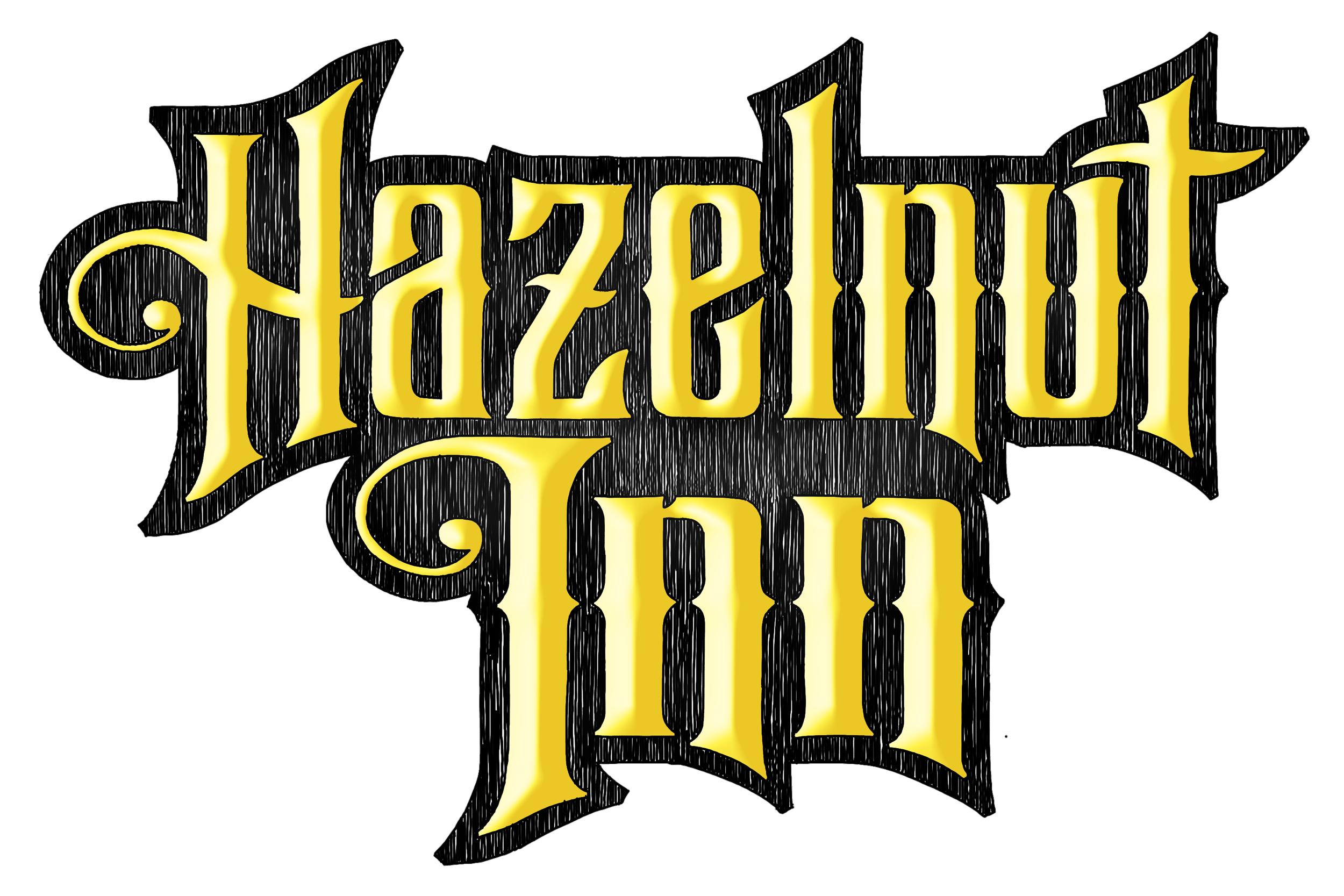 Hazelnut Inn Logo Lettering