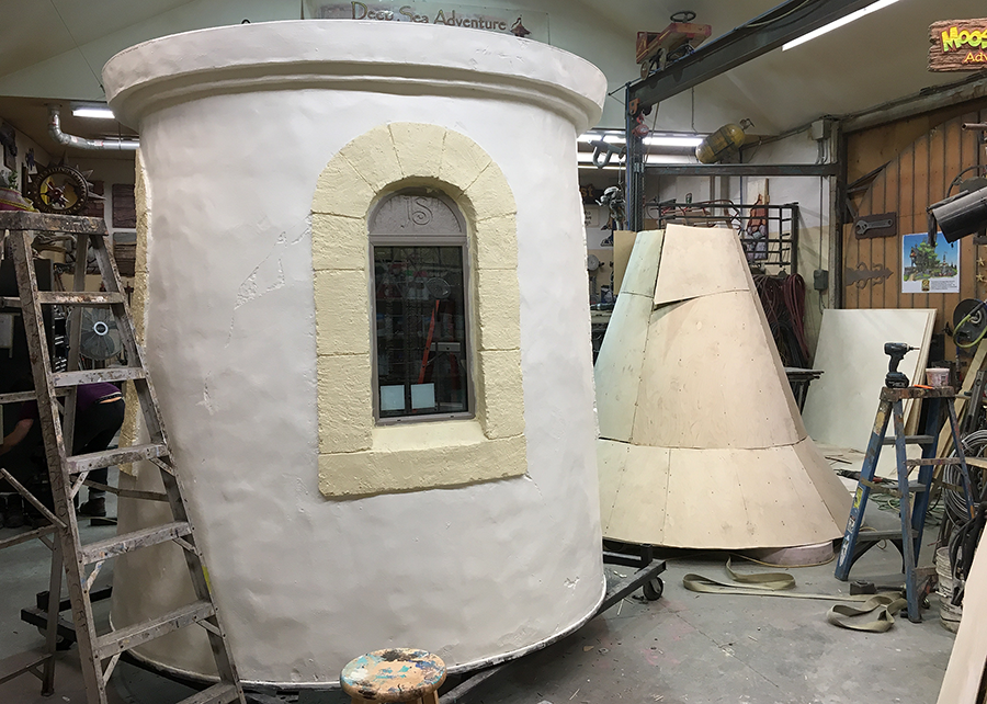 castle tower in the shop