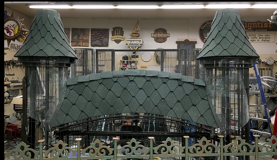 Gate Roof