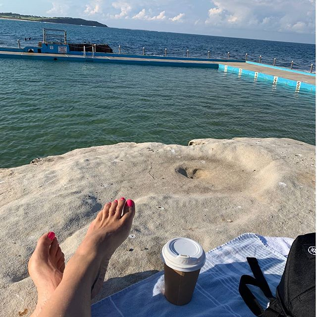 Ocean. Coffee. Sun. Peace. = Nourishment for the mind, body and soul.
