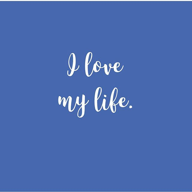 I really do. Such a great practice to get into - loving and appreciating all that is in your life. Want to know more about this, I highly recommend listening to/reading anything by @marisapeertherapy Until then..go love your life!