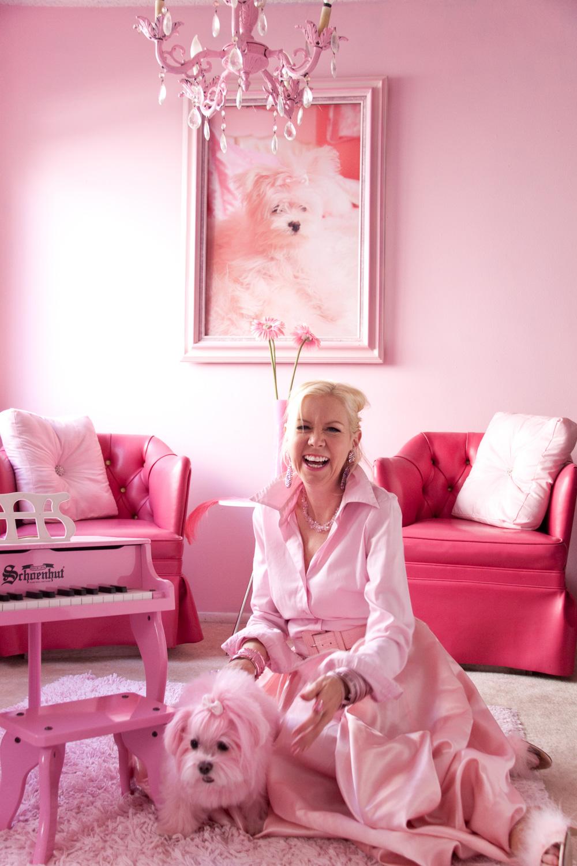 Kitten Kay Sera AKA The Pinkest Person in the World
