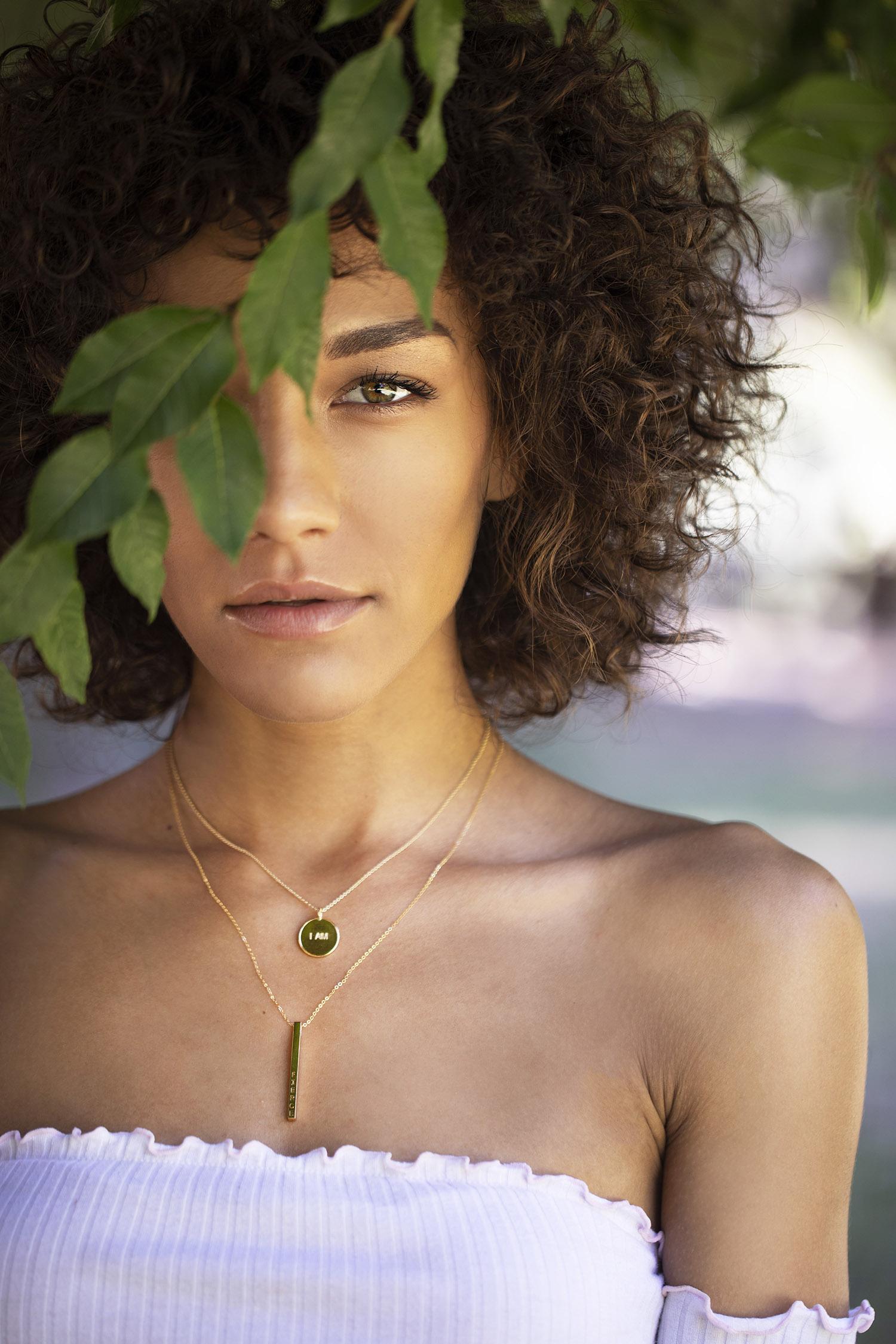 Branding shoot for jewelry line: InfiniteSisters.com