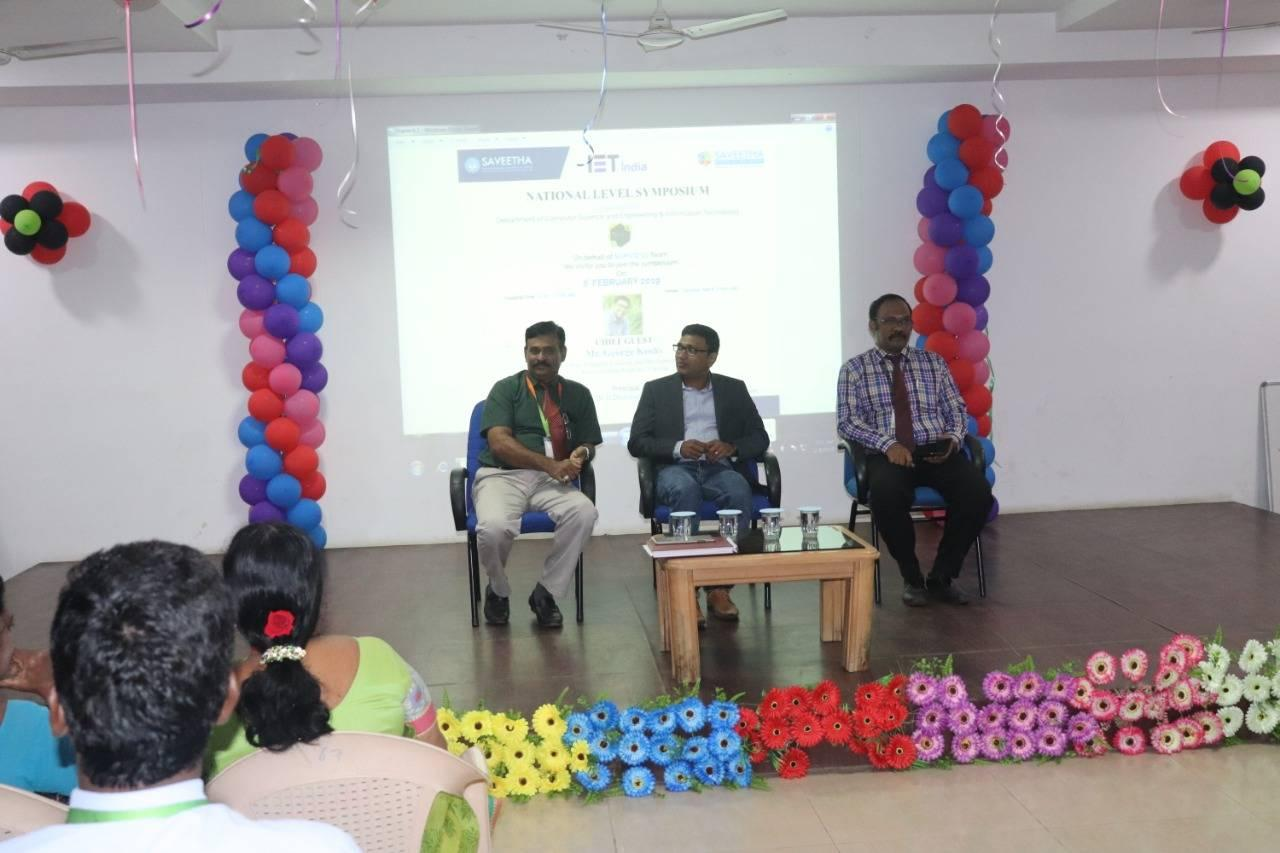 speaker: Mr. George Koshy Vice-president of Learning and Development, Servion Global Solutions, Chennai,