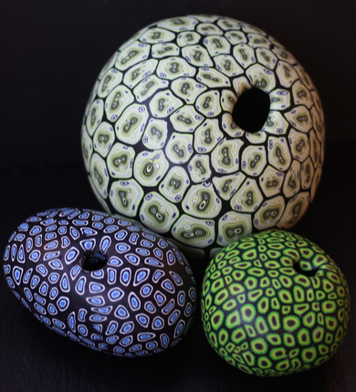 Polymer Clay Vessels - Designs are limited by imagination only