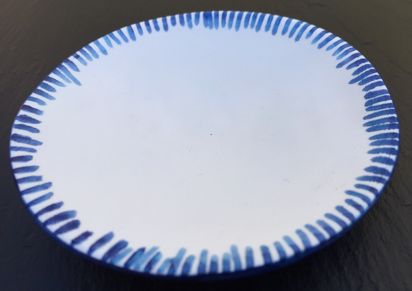 Hand-painted Edge Plate