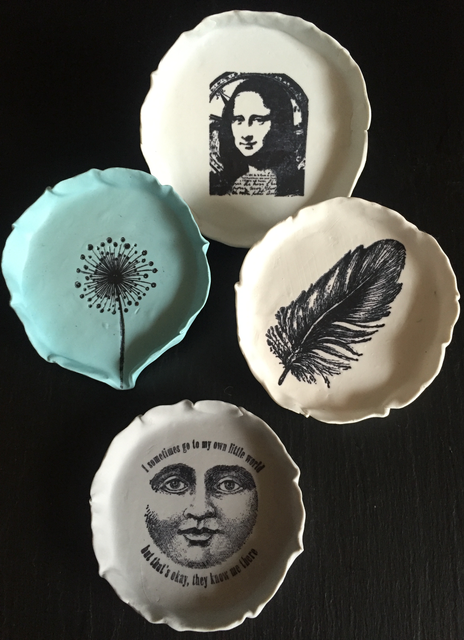 Hand-printed Dishes - 1
