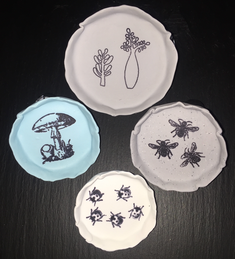 Hand-printed Dishes - 2