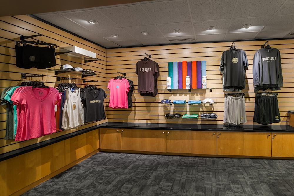 Honolulu Club Logo Shop