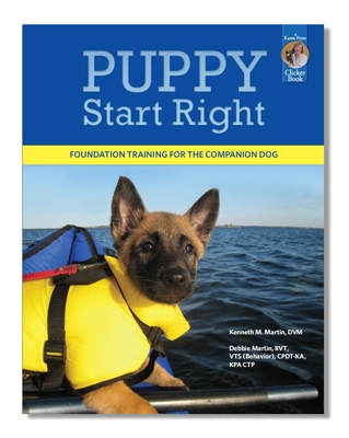 Puppy Start Right Preschool online course, Karen Pryor Academy.