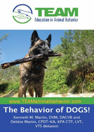 The Behavior of DOGS! video by Tawzer Dog, includes behavior modification, learning theory, positive reinforcement, clicker training.