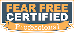 Fear Free Certification Course Program for veterinarians and dog trainers.