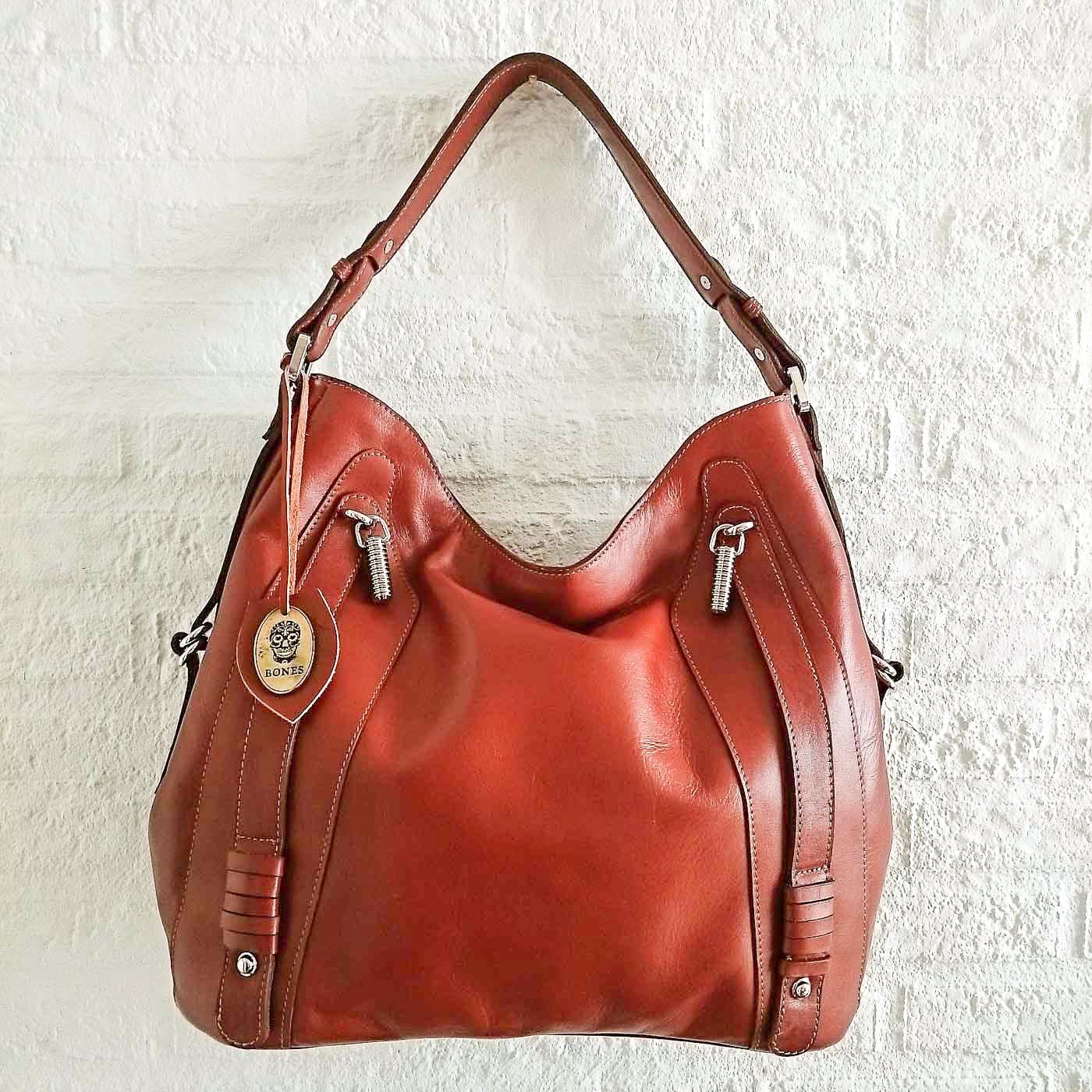BONES Romina - Full grain leather handbag