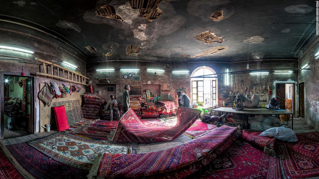 Carpet repair shop