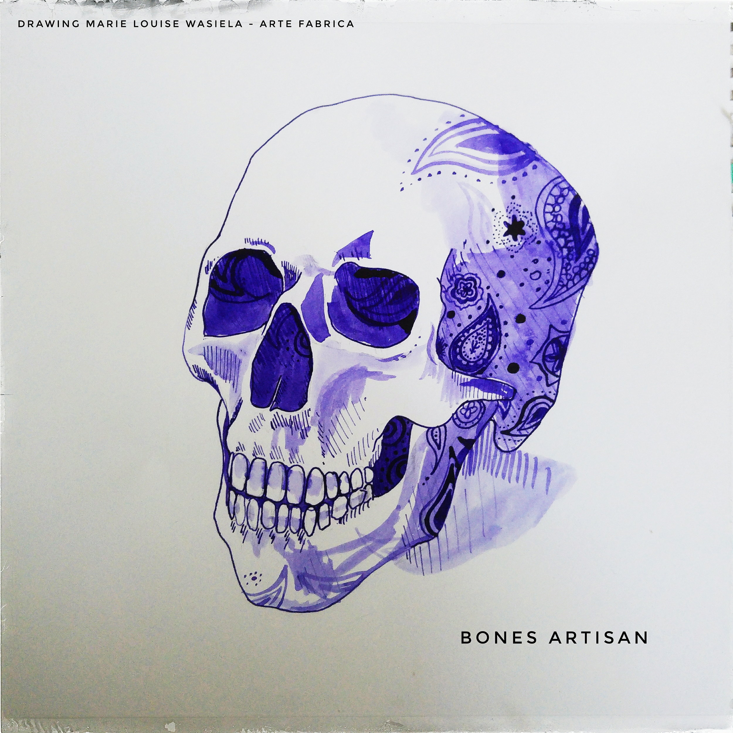 BONES Artisan logo rendition by Marie Louise Wasiela