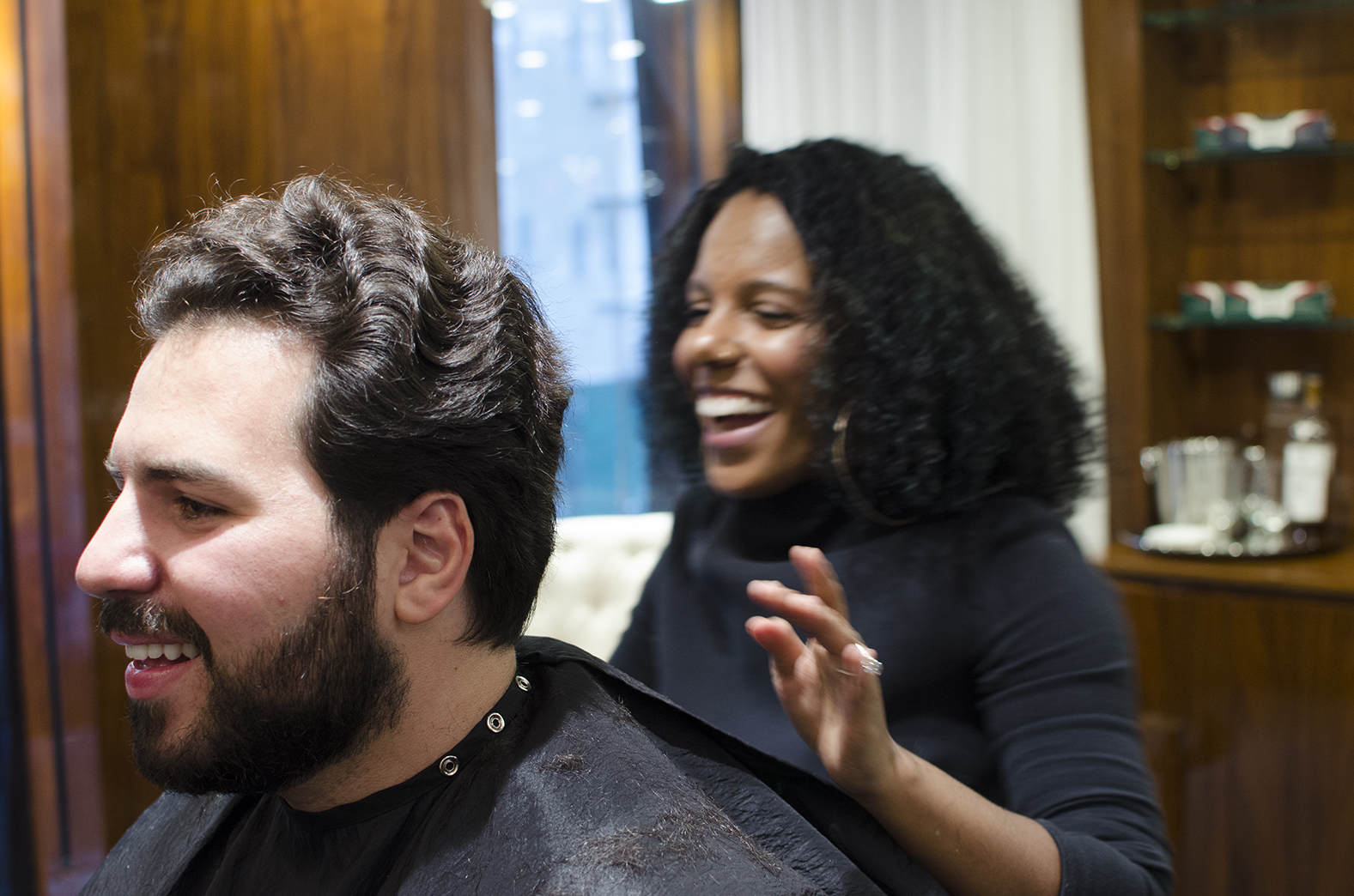 """""""Educating clients about their hair is key."""""""