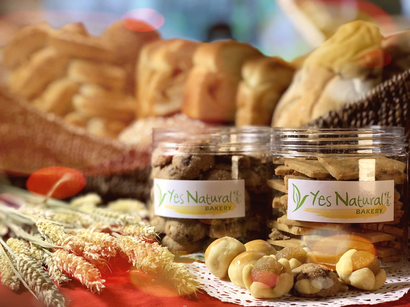 Yes Natural Bakery bread are healthy without any preservatives nor additives.悦意烘培面包,健康无添加物。