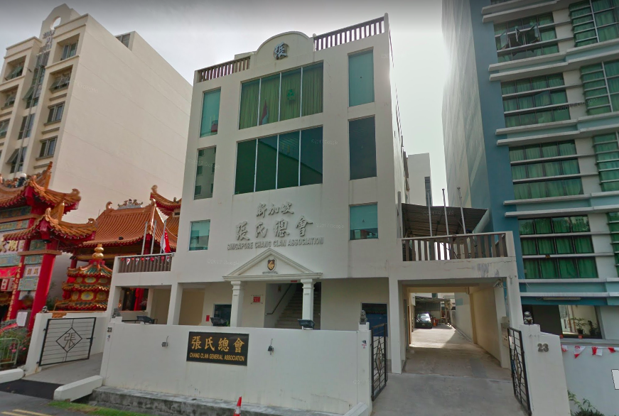Zhang Clan Association Building at Geylang Lorong 29