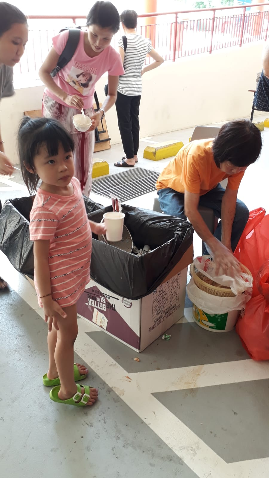 Never too young to start recycling