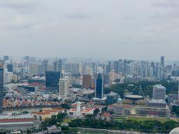 Ausblick vom Marina Bay Sands