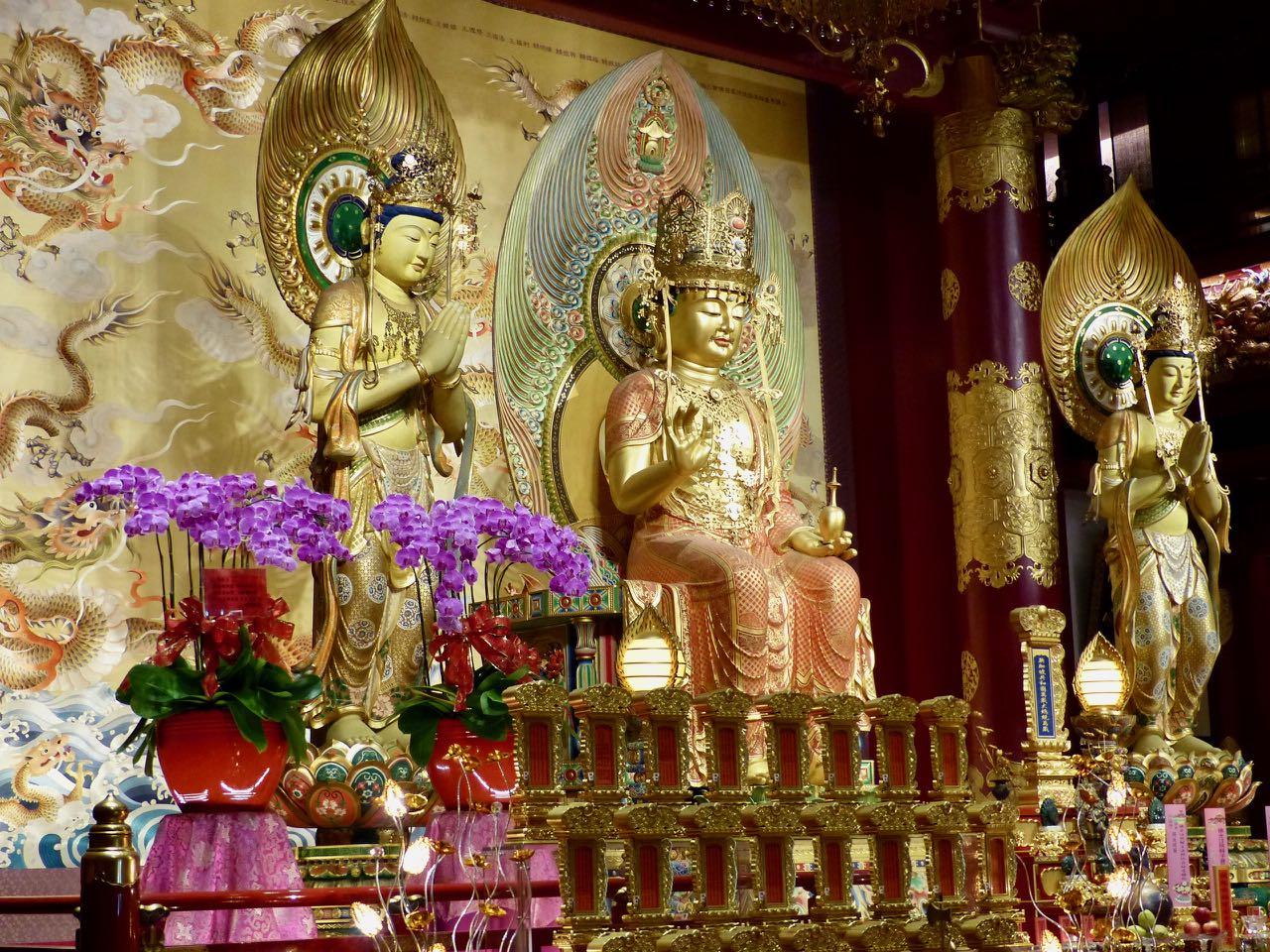 Buddha Tooth Relic Temple, Singapur