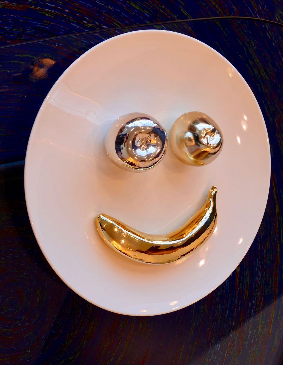 lächelnder Teller :)