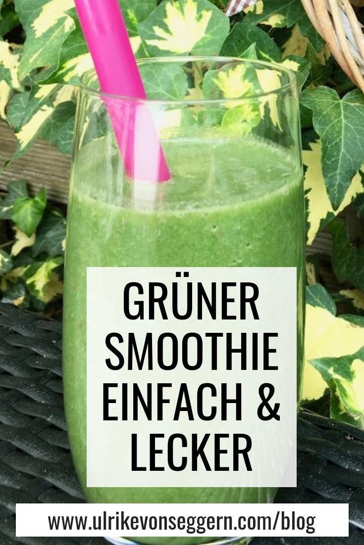 Grüner Smoothie - so lecker!