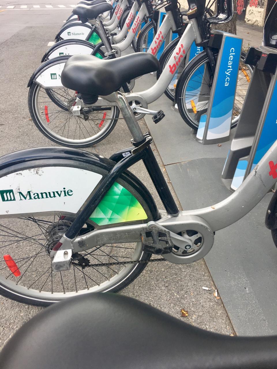 Fahrradstation in Montreal
