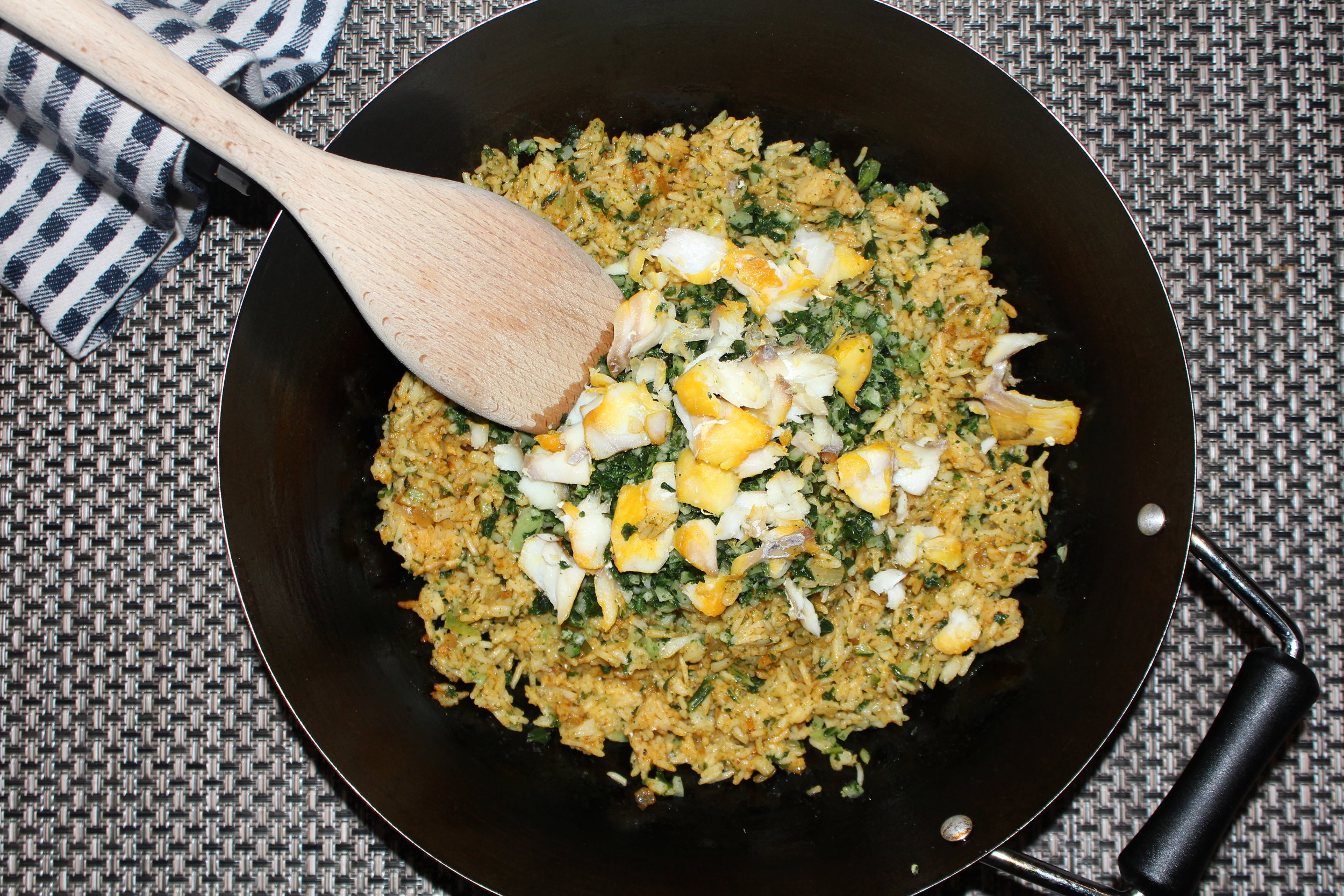 ASIAN SPICE FUSION KEDGEREE WITH SMOKED HADOCK