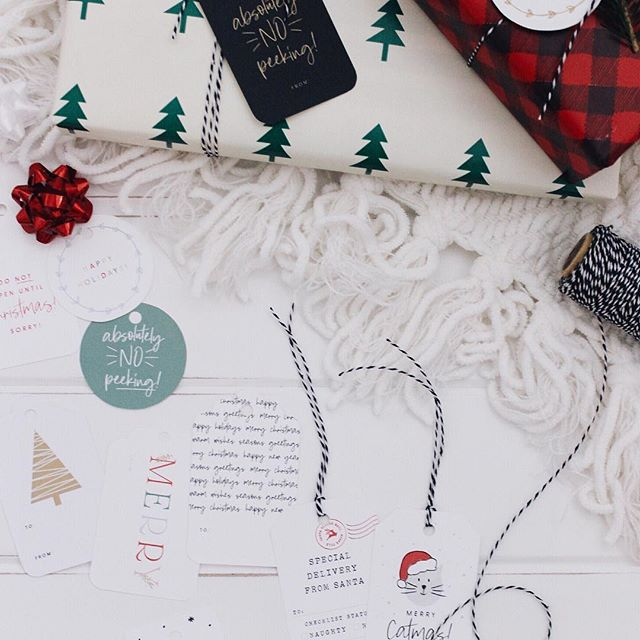 ✨ NEW printable gift tags are here!! ✨ Head on over to the blog and check them out! There are a few different colors/styles, so I hope you find one you like! ☺️ If you use them I'd love to see... please tag me or use #unionshoreholiday 🎄🎄 . . . #flashesofdelight #thatsdarling #persuepretty #abmcrafty #wemakecollective #craftbuzz #lovelysquares #creativelifehappylife #myunicornlife #livecolorfully #creativityfound #abmholidayspirit #psimadethis #lcdotcomloves #bhg #bhghowiholiday #mysouthernholiday #unionshoreholiday