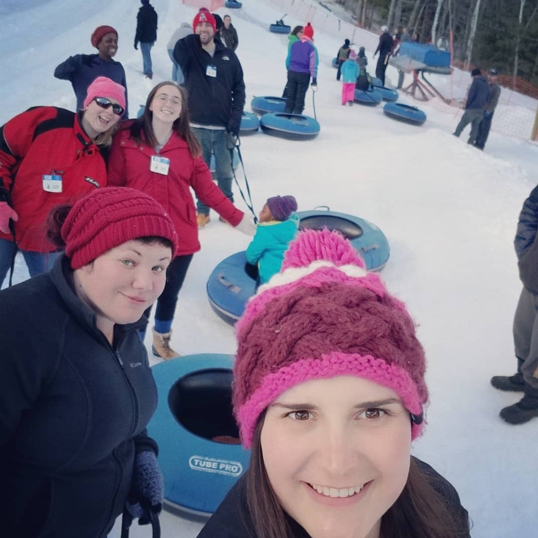 Snow tubing - Some afternoon fun with the family!