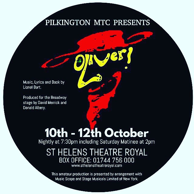 SUNDAY REHEARSALS START TODAY!!!! it must be close to show week!  Get your tickets ASAP from the St Helens Box Office on 01744756000 Oct 10-12th