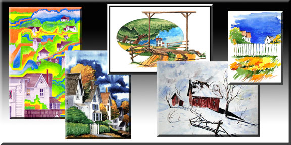 The WaterColor Gallery reveals some the artists roots. Early paintings that are still a favorite. Paul loves to attack the technique of watercolor painting and create places in the world around, and places in the heart. CLICK HERE
