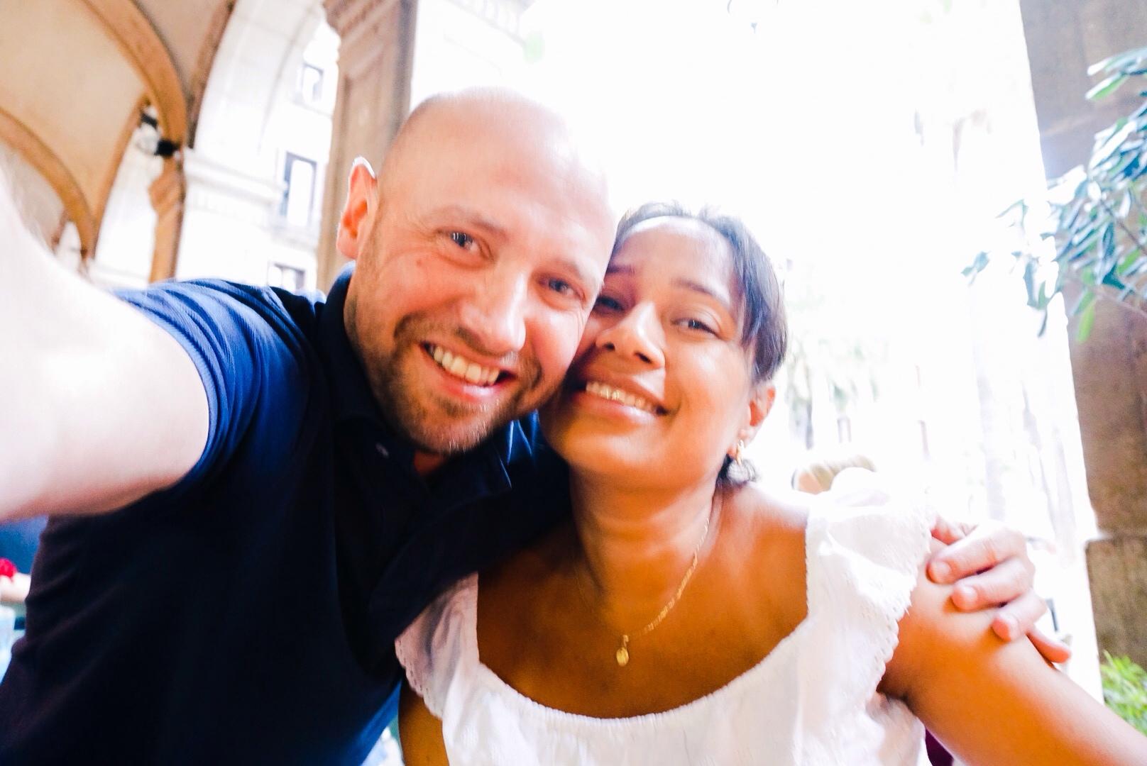 Martijn and wife, Janntsi
