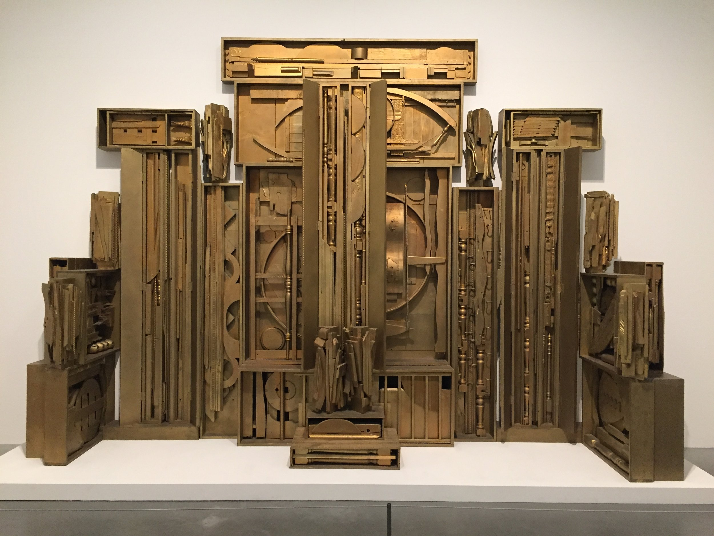 Louise Nevelson at the Tate Modern