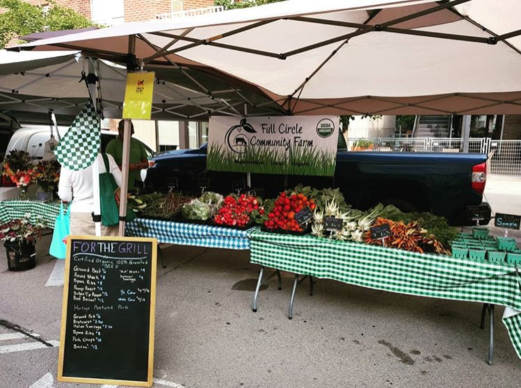 2018 Green Bay Summer Market Stand