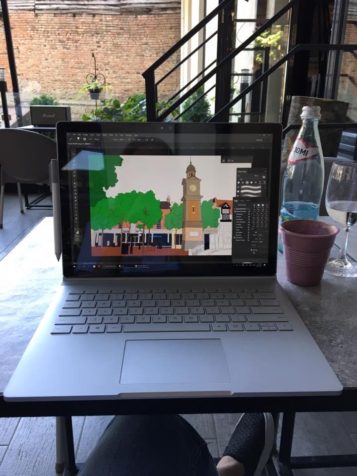 "Working process on the book ""My Favorite Shop on Webb Ellis Street"" One of the biggest project done for publishing company in UK, Clever Fox Press  მუშაობის პროცესი წიგნზე""My Favorite Shop on Webb Ellis Street"" ,რომელიც შესრულდა ინგლისში მდებარე გამომცემლობისთვისClever Fox Press"