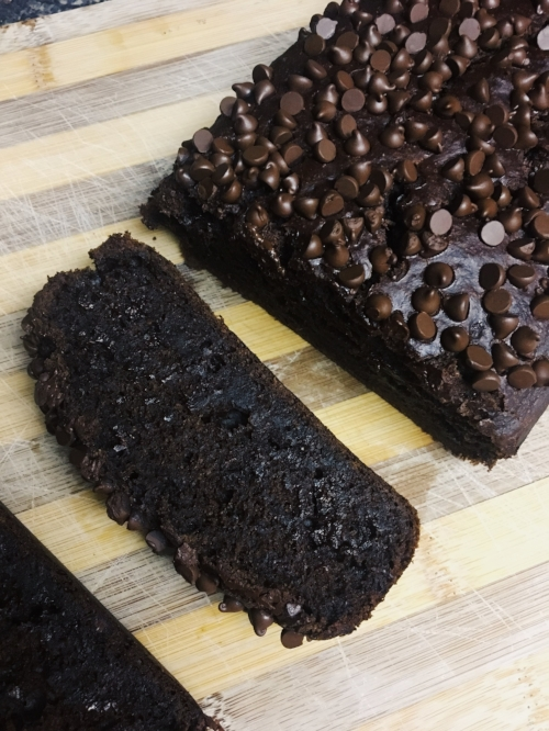 Chocolate Banana Bread Vegan