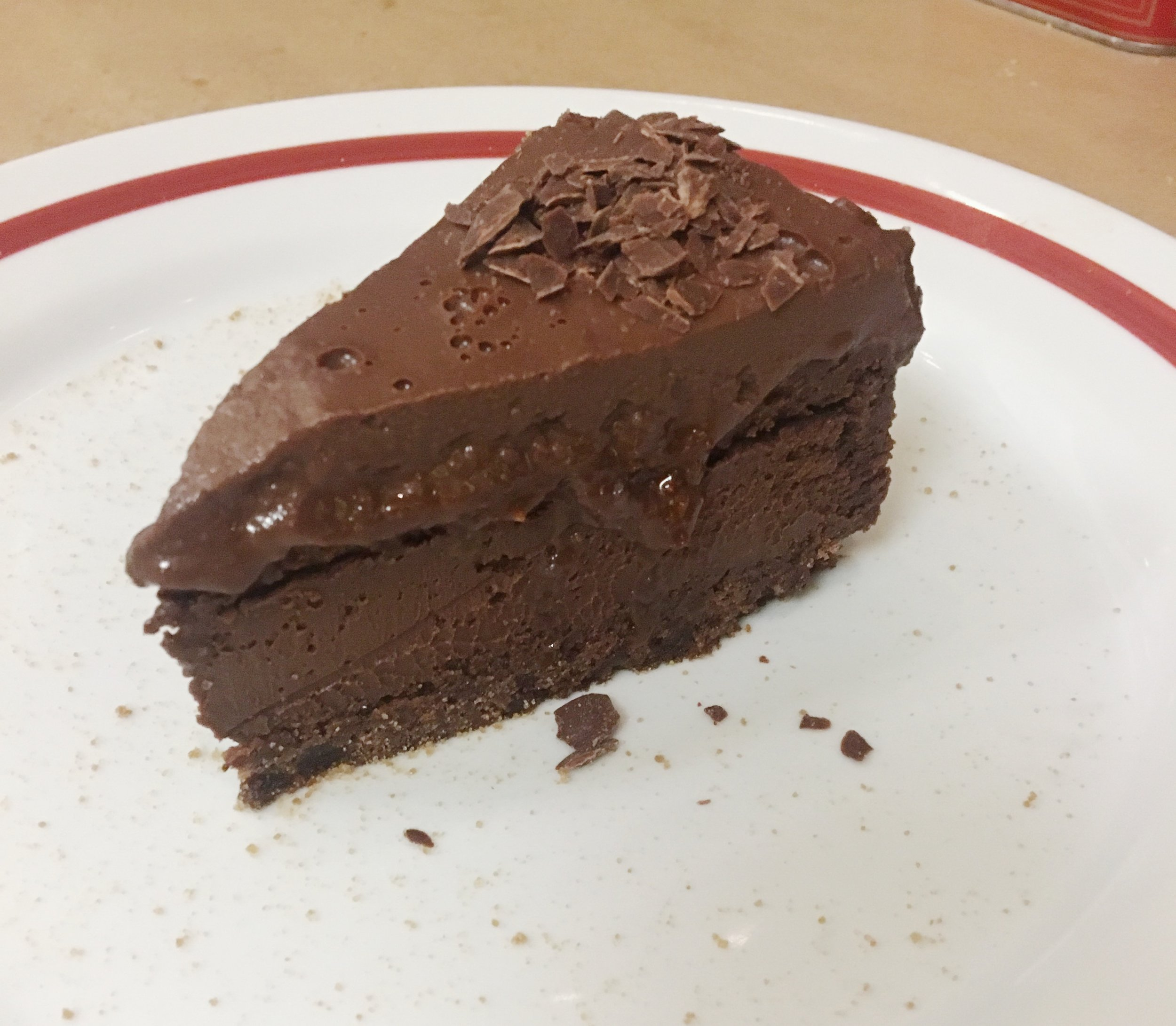 This is seriously the best chocolate cake I've ever had! If you go here, I highly recommend saving room for dessert! :)