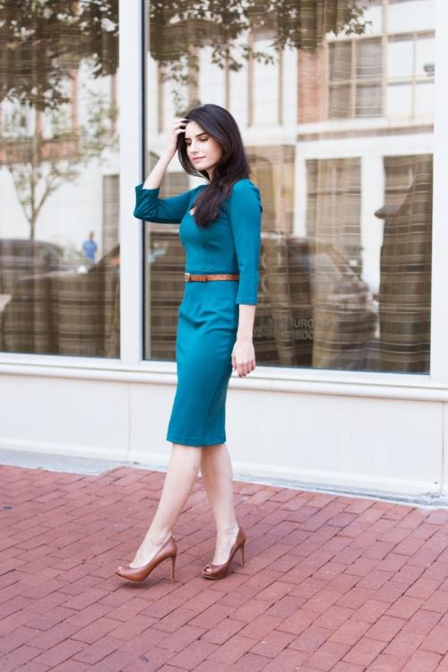 Boden green dress