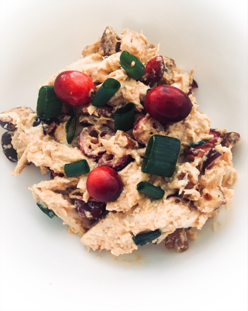 Maple Cranberry Chicken Salad Recipe