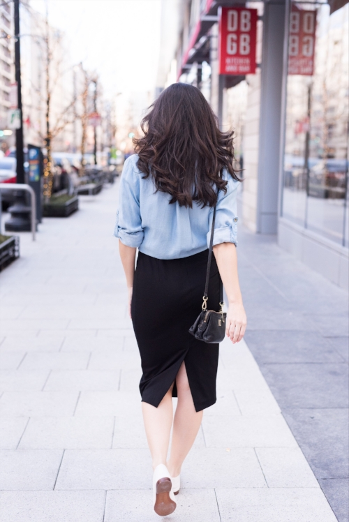 How to style a black dress for the weekend