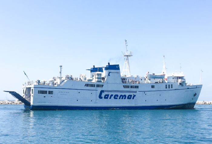 Caremar Ferry to Procida from Naples