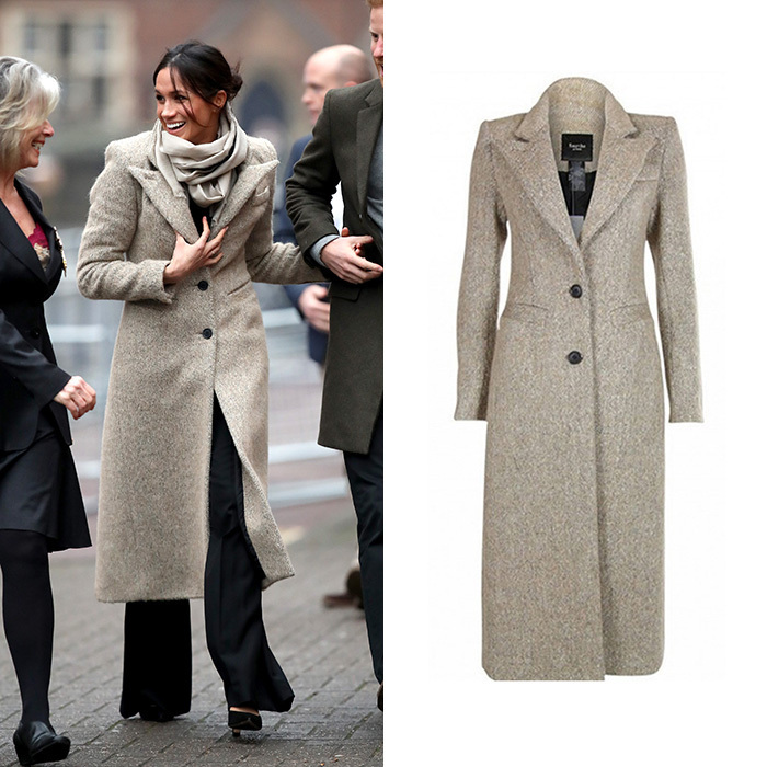 Contrasting coat technique (Photo: Chris Jackson/Getty Images)