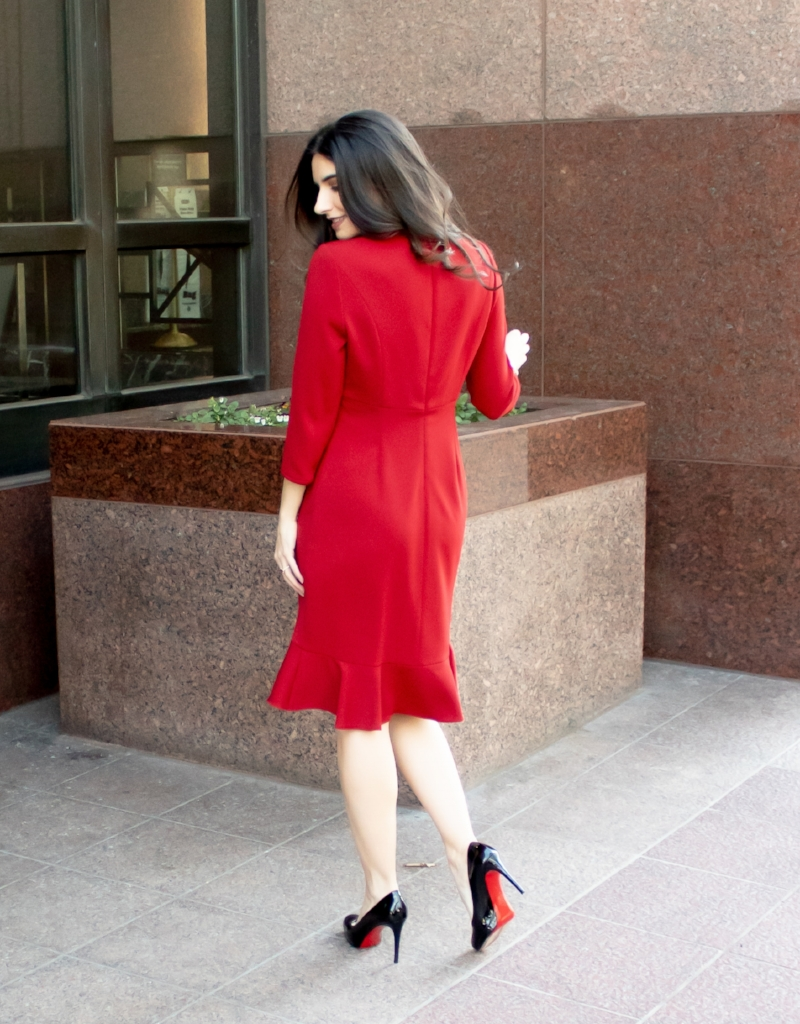 Nora Gardner Red Giselle Dress