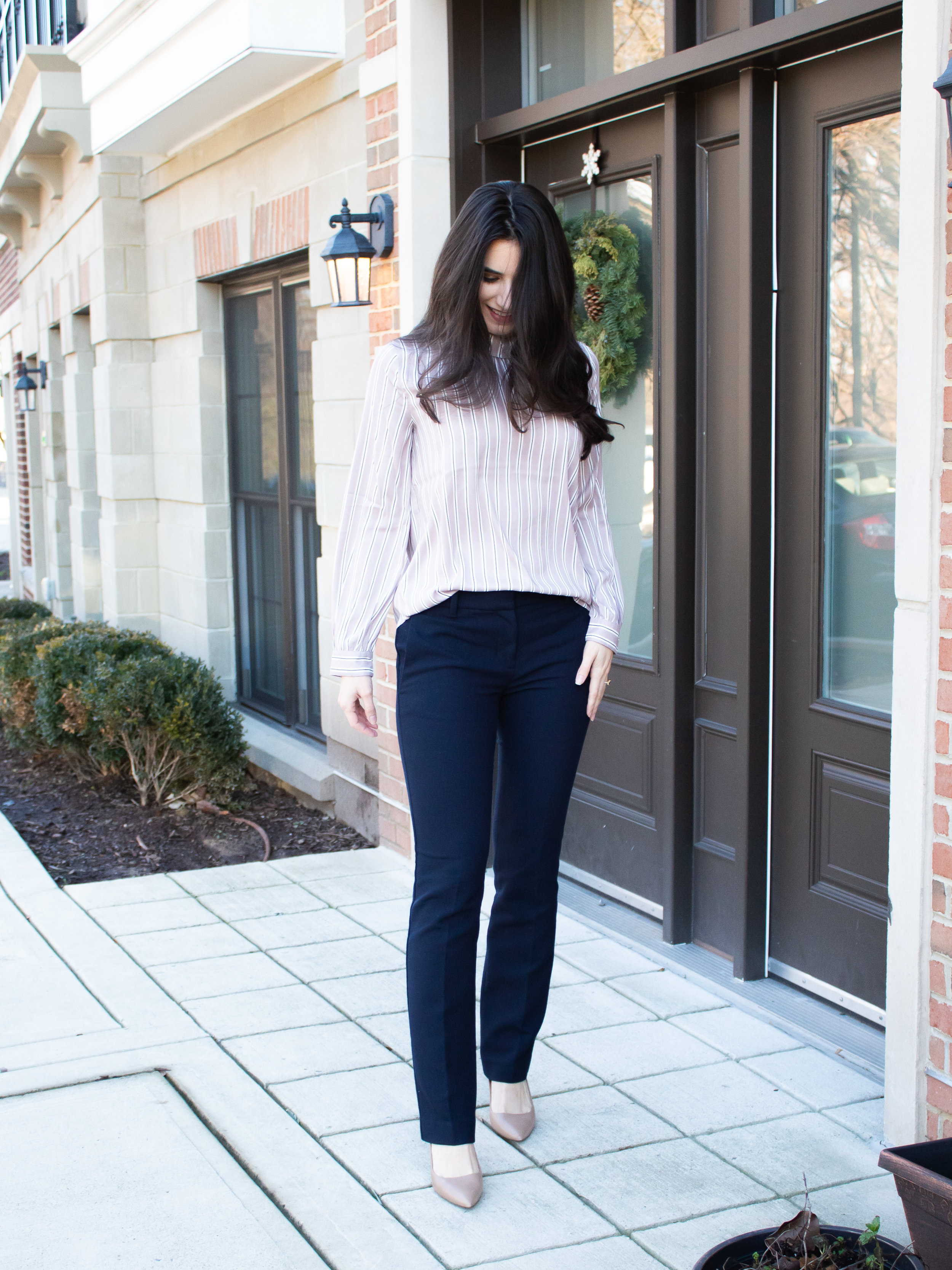 Ann Taylor Blouse and Pants