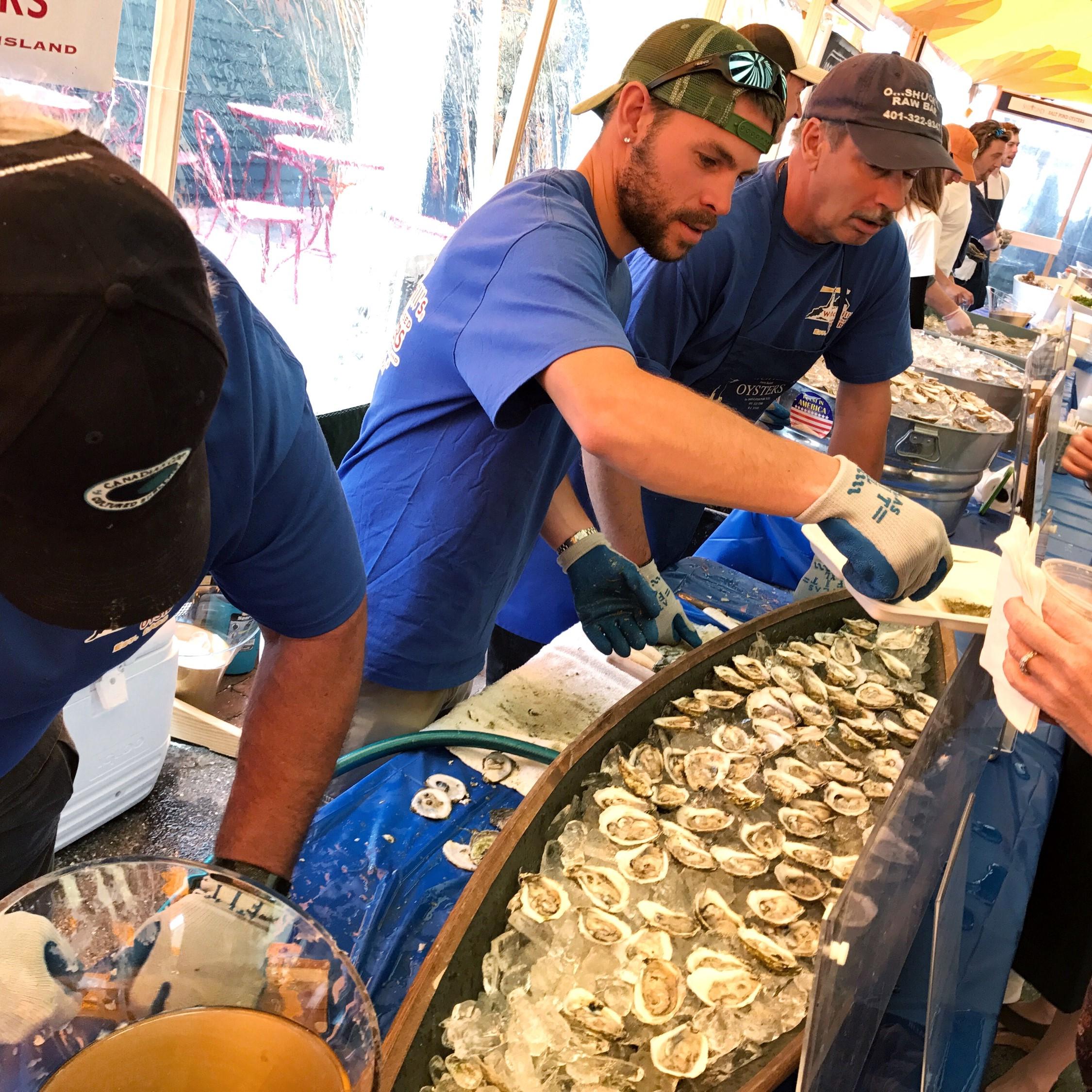 Newport Oyster Festival, Newport, RI -