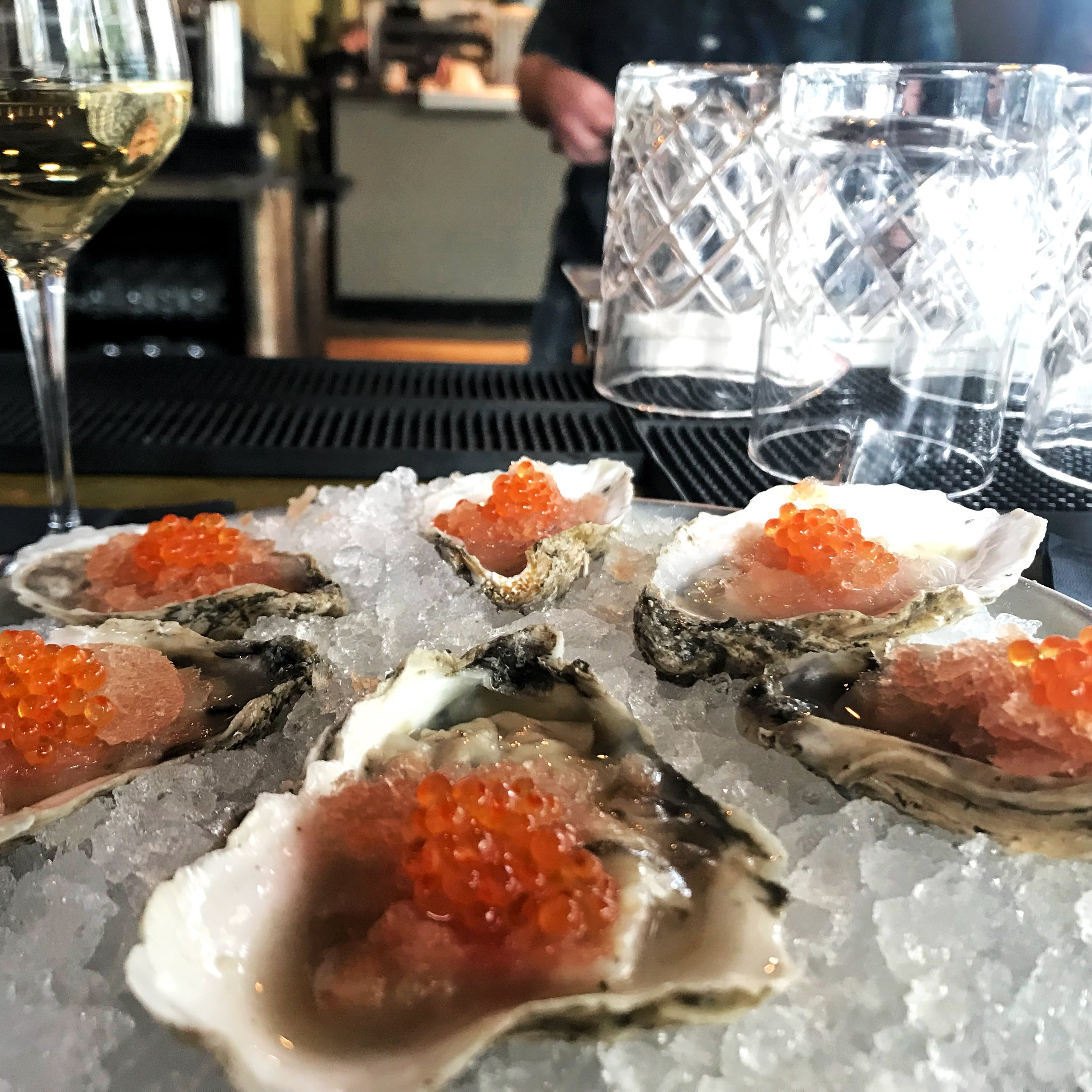 Oysters and Pearls at Rappahannock
